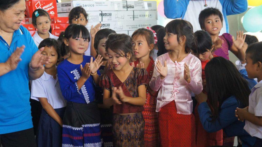 L'UFE Phuket sponsorise l'anniversaire du Good Shepherd 012