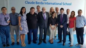 Meeting UFE avec le Sénateur Olivier Cadic à l'école internationale BCIS à Phuket