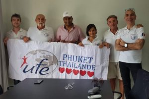 Rencontre Prédibane Siva et l'UFE Phuket