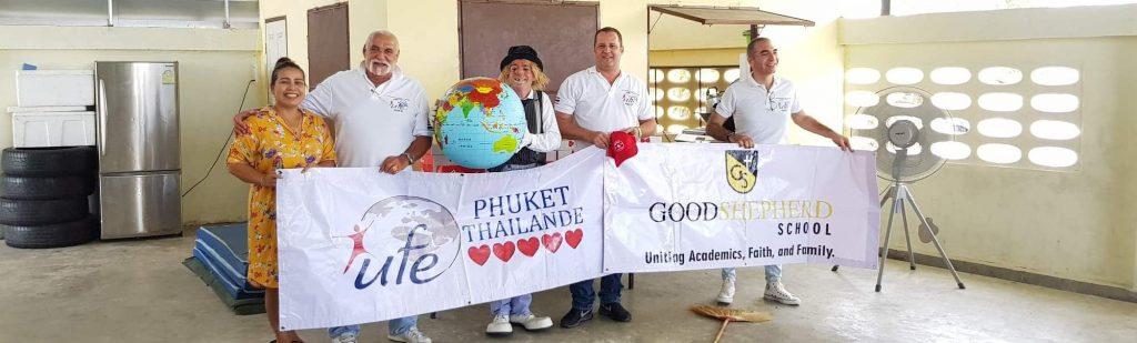 Shepherd School Clown Show - UFE Phuket Featured